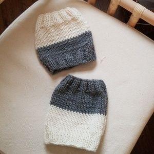 Accessories - knit boot cuffs